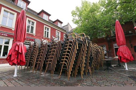 Ab Pfingsten könnten Restaurants in Brandenburg ihre Außenbereiche wieder öffnen.