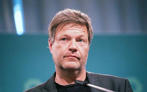 Der Grünen-Co-Chef Robert Habeck