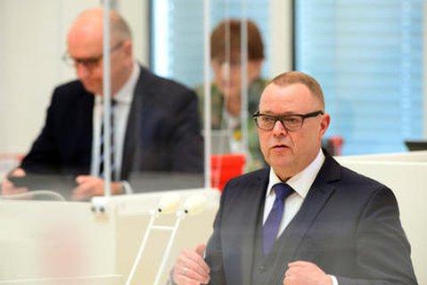 Brandenburgs Innenminister Michael Stübgen (CDU).