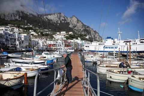Marina Grande, der Haupthafen von Capri