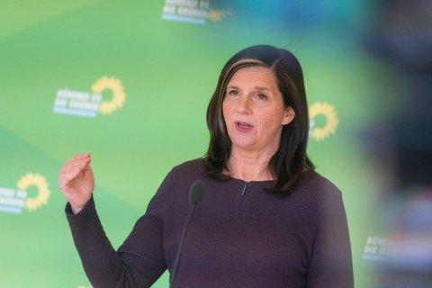 Katrin Göring-Eckardt, Chefin der Bundestagsfraktion der Grünen