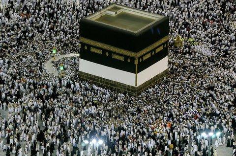 In den Vor-Pandemie-Jahren kamen mehr als zwei Millionen Pilger nach Mekka.