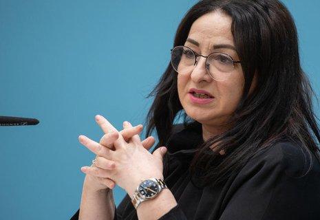 Dilek Kalayci (SPD), Senatorin für Gesundheit, Pflege und Gleichstellung in Berlin.