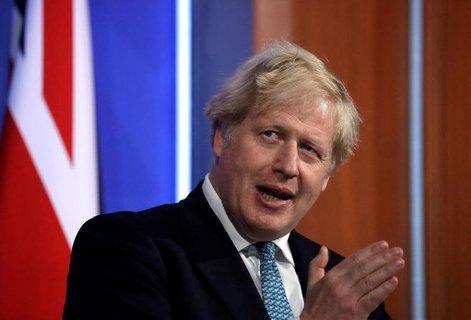 Der britische Regierungschef Boris Johnson