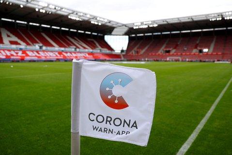 Die Spiele der zu Ende gehenden Bundesliga-Saison fanden ohne Zuschauer statt.