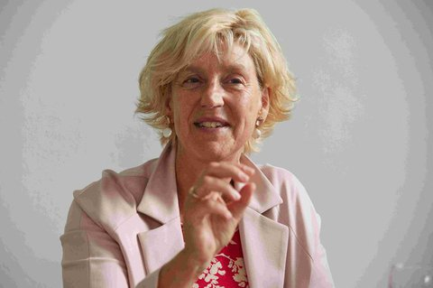 Die Historikerin Eva  Schlotheuber.