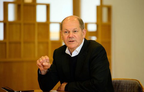 Olaf Scholz, Bundesfinanzminister und Spitzenkandidat der SPD Brandenburg