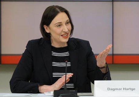 Die Brandenburger Landesbeauftragte für Datenschutz, Dagmar Hartge.