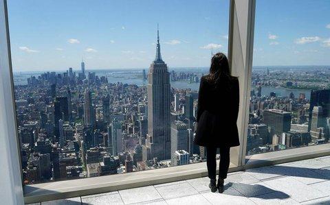 Blick auf Manhattan mit dem Empire State Building
