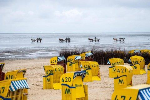 Vor allem über Pfingsten kommen viele Touristen aus Nordrhein-Westfalen an die Nordsee.