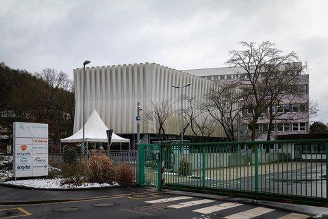 Das Biontech-Werk in Marburg