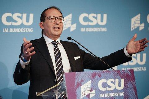 CSU-Landesgruppenschef Alexander Dobrindt.