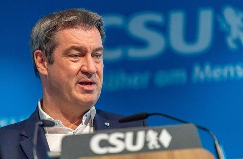 """""""Der Matchwinner war Reiner Haseloff"""" - sagt Markus Söder."""