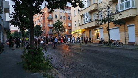 Liebigstraße Ecke Rigaer Straße