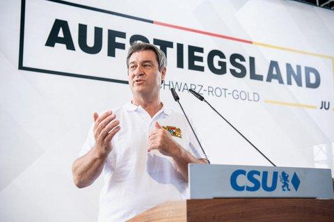 Markus Söder bei der Jungen Union.