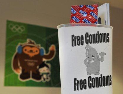 Anders als sonst wird es bei Olympia in diesem Jahr keine Kondome für die Athleten geben.