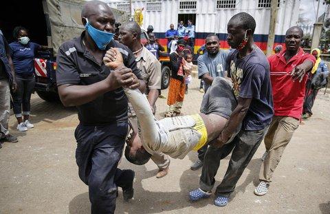 In vielen Ländern Afrikas spitzt sich ie Corona-Lage weiter zu.