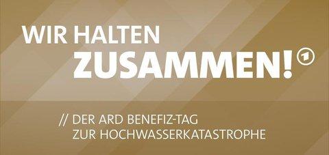 Das Motto des Spendentags in der ARD.