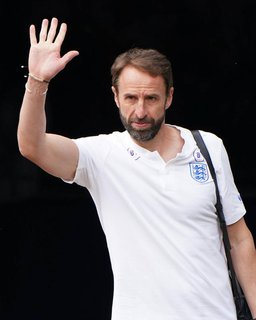 Der englische Fußball-Nationaltrainer: Gareth Southgate.