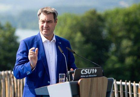 Ministerpräsident von Bayern: Markus Söder (CSU).