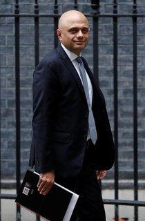 Gesundheitsminister Sajid Javid zog Unmut auf sich.