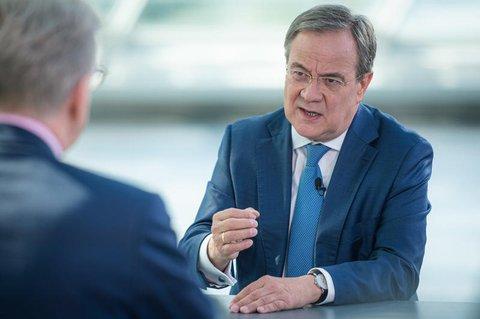 Unions-Kanzlerkandidat Armin Laschet (CDU)