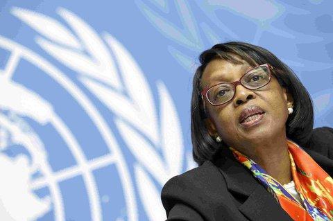 WHO-Regionaldirektorin für Afrika: Matshidiso Moeti.