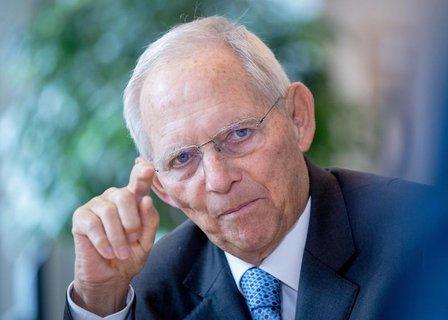 Bundestagspräsident Wolfgang Schäuble (CDU).