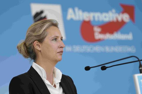 AfD-Spitzenkandidatin für die Bundestagswahl: Alice Weidel.