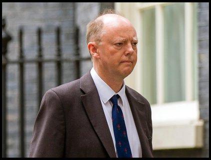 Der britische Regierungsberater Chris Whitty