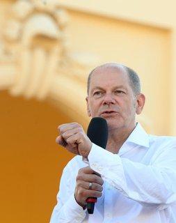 Olaf Scholz, Kanzlerkandidat und Spitzenkandidat der SPD
