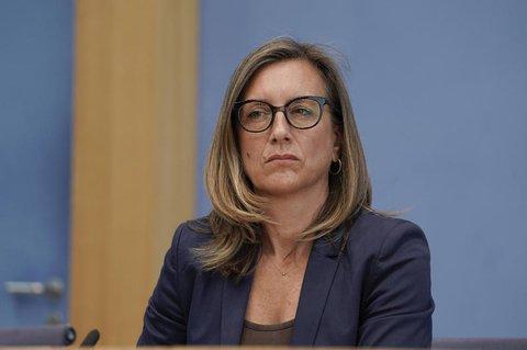 Vize-Regierungssprecherin Ulrike Demmer.