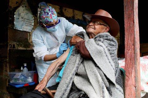 Impfung im ländlichen Kolumbien.