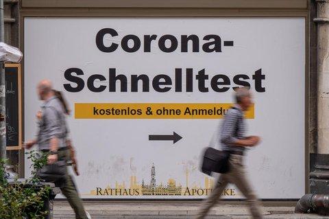 Hinweis auf ein Testcenter in München.