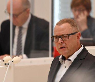 Der Innenminister von Brandenburg: Michael Stübgen
