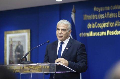 Der Außenminister von Israel: Jair Lapid.