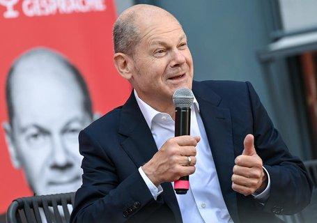 Olaf Scholz, Kanzlerkandidat der SPD und Bundesfinanzminister