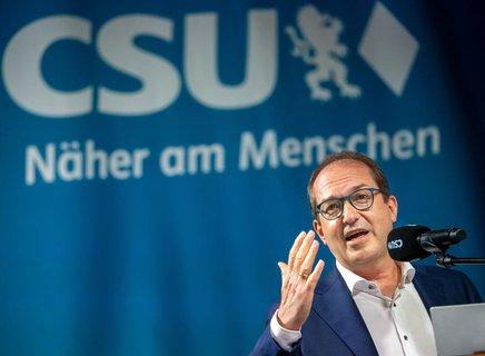 Alexander Dobrindt, CSU-Landesgruppenchef im Bundestag