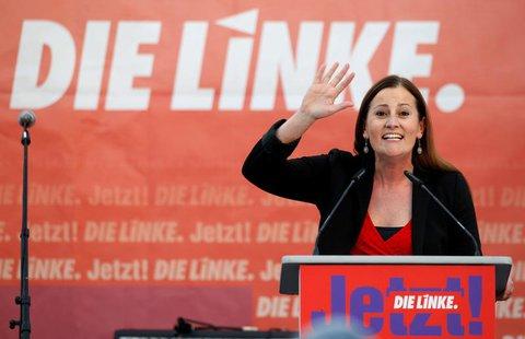 Janine Wissler,Linken-Parteivorsitzende