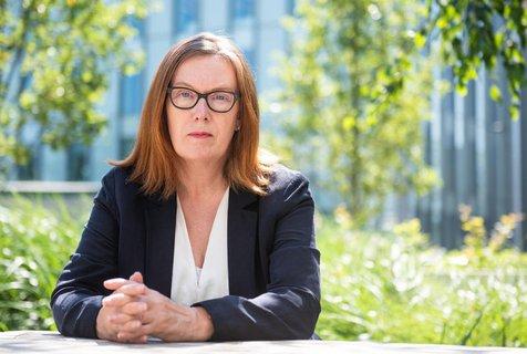 Die Immunologin Sarah Gilbert forscht an der Uni Oxford.