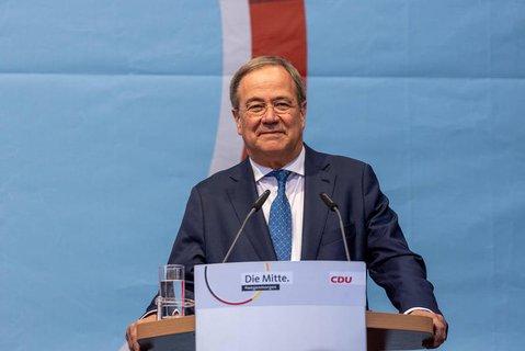 Unionskanzlerkandidat und CDU-Chef: Armin Laschet.