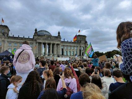 Greta Thunberg vor dem Bundestag