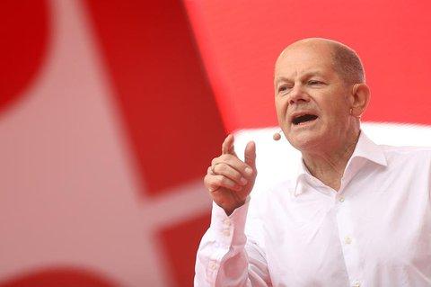 Olaf Scholz, Finanzminister und SPD-Kanzlerkandidat