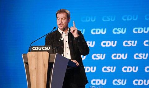 Markus Söder, CSU-Parteivorsitzender und Ministerpräsident von Bayern