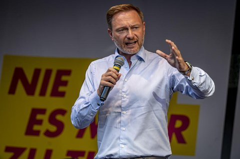 FDP-Chef Christian Lindner in Düsseldorf