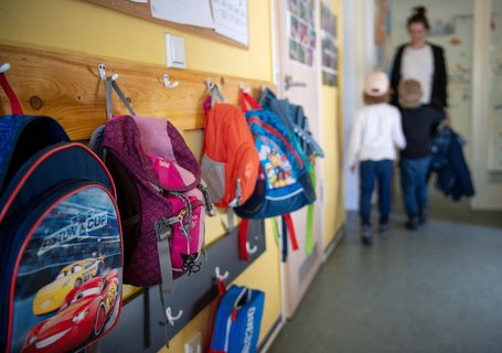 Blick in einen Kindergarten