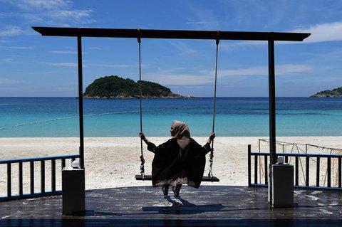 Strand auf der Insel Pulau Redang