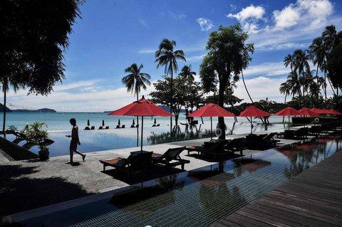 Leeres Ferienressort in Phuket