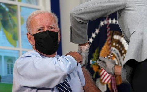 Der Präsident der Vereinigten Staaten: Joe Biden.