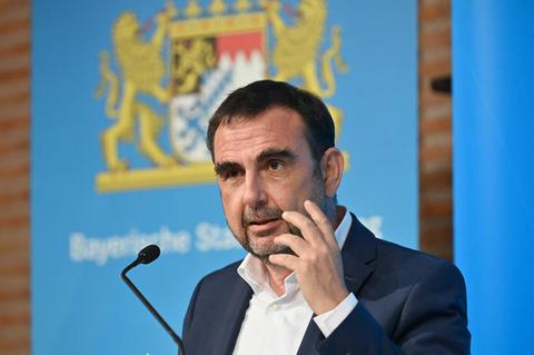 Bayerns Ressortchef Klaus Holetschek (CSU)